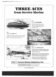 Maritime Reporter Magazine, page 2nd Cover,  Mar 1993 Service Marine Industries Inc.