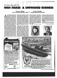 Maritime Reporter Magazine, page 20,  Mar 1993