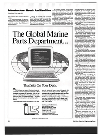 Maritime Reporter Magazine, page 22,  Mar 1993 Global Marine Parts Department