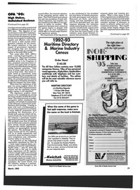 Maritime Reporter Magazine, page 23,  Mar 1993 Swedish Shipowners Association