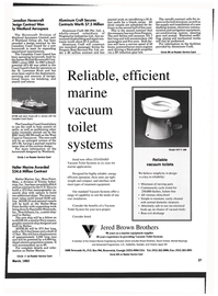 Maritime Reporter Magazine, page 25,  Mar 1993