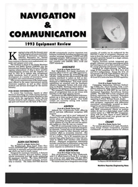 Maritime Reporter Magazine, page 30,  Mar 1993