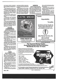 Maritime Reporter Magazine, page 39,  Mar 1993