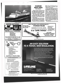 Maritime Reporter Magazine, page 44,  Mar 1993