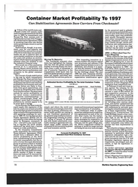 Maritime Reporter Magazine, page 70,  Mar 1993 carrier performance