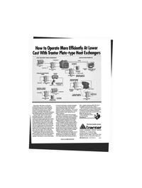 Maritime Reporter Magazine, page 135,  Jun 1993 SEAWATER OR FRESH WATER FRESH WATER STORAGE TANK SUPERCHANGER UNIT