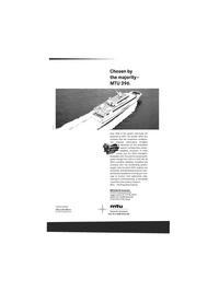Maritime Reporter Magazine, page 3rd Cover,  Jun 1993 MTU