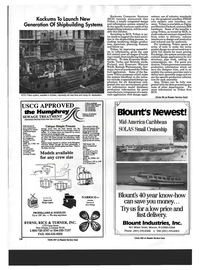 Maritime Reporter Magazine, page 12,  Aug 1993