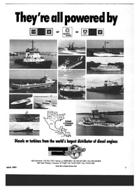 Maritime Reporter Magazine, page 1,  Aug 1993