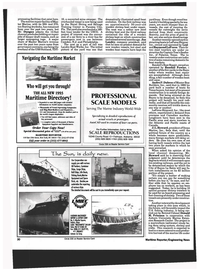 Maritime Reporter Magazine, page 28,  Aug 1993
