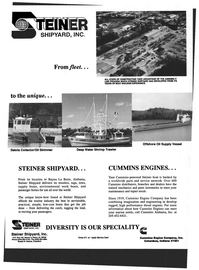 Maritime Reporter Magazine, page 31,  Aug 1993