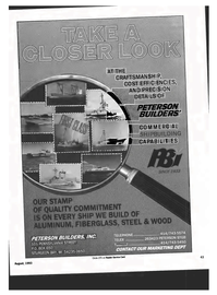 Maritime Reporter Magazine, page 41,  Aug 1993