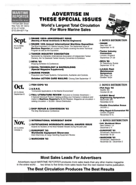 Maritime Reporter Magazine, page 74,  Aug 1993