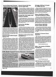 Maritime Reporter Magazine, page 7,  Aug 1993