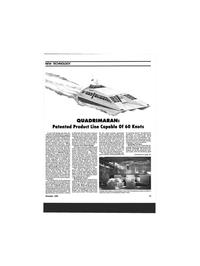 Maritime Reporter Magazine, page 11,  Nov 1993 Quadrimaran facility