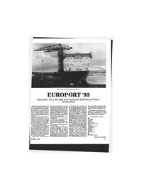 Maritime Reporter Magazine, page 85,  Nov 1993 Pentti- Juhani Hintikka