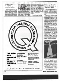 Maritime Reporter Magazine, page 18,  Dec 1993