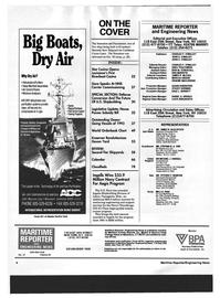 Maritime Reporter Magazine, page 2,  Dec 1993