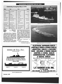 Maritime Reporter Magazine, page 41,  Dec 1993