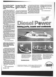 Maritime Reporter Magazine, page 45,  Dec 1993
