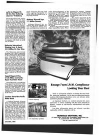 Maritime Reporter Magazine, page 59,  Dec 1993