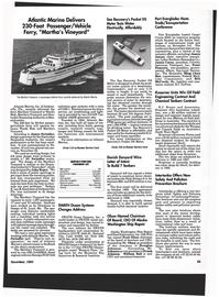 Maritime Reporter Magazine, page 63,  Dec 1993