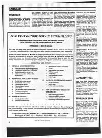 Maritime Reporter Magazine, page 64,  Dec 1993