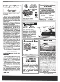 Maritime Reporter Magazine, page 19,  Jan 1994 Don Hinkley