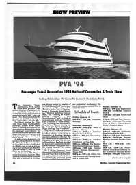 Maritime Reporter Magazine, page 32,  Jan 1994 PREVIEW SPIRIT OF BOSTON Passenger Vessel Association