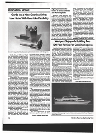 Maritime Reporter Magazine, page 72,  Jan 1994 New York