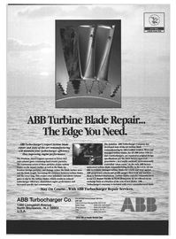 Maritime Reporter Magazine, page 7,  Jan 1994 ABB factory