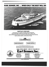 Maritime Reporter Magazine, page 4th Cover,  Jan 1994 Louisiana