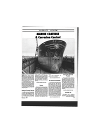 Maritime Reporter Magazine, page 85,  Feb 1994 corrosion control products