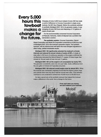 Maritime Reporter Magazine, page 2nd Cover,  Mar 1994 yrAC changing oil