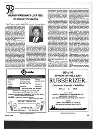 Maritime Reporter Magazine, page 37,  Mar 1994 California