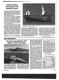 Maritime Reporter Magazine, page 45,  Mar 1994 9.3 Million For SLICE Technology