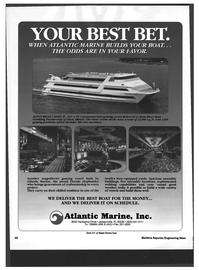 Maritime Reporter Magazine, page 46,  Mar 1994 BELLE CASINO