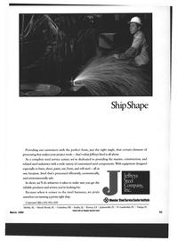 Maritime Reporter Magazine, page 51,  Mar 1994 Inc. Member Steel Service Center Institute