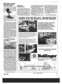 Maritime Reporter Magazine, page 61,  Mar 1994 J. Ron Brinson