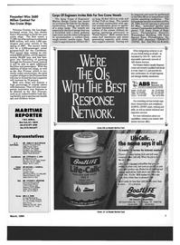 Maritime Reporter Magazine, page 5,  Mar 1994 Pennsylvania