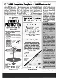 Maritime Reporter Magazine, page 6,  Mar 1994 submersible electric drive cargo pump technology