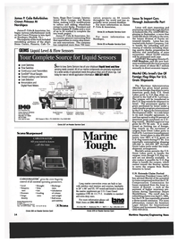 Maritime Reporter Magazine, page 12,  May 1994 Virginia