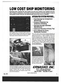 Maritime Reporter Magazine, page 1,  May 1994 ERNASKO INC