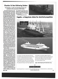 Maritime Reporter Magazine, page 31,  May 1994 Regal Princess