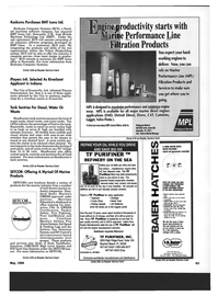 Maritime Reporter Magazine, page 61,  May 1994 Indiana