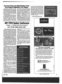 Maritime Reporter Magazine, page 69,  May 1994 Monterey Peninsula