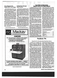 Maritime Reporter Magazine, page 74,  May 1994 Washington