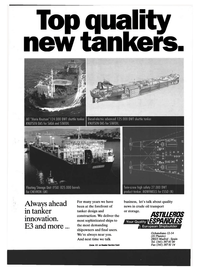 Maritime Reporter Magazine, page 4th Cover,  May 1994 Statoil