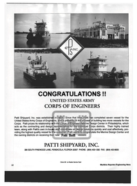 Maritime Reporter Magazine, page 10,  Jun 1994 Engineers Marine Design Center in Philadelphia
