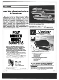 Maritime Reporter Magazine, page 129,  Jun 1994 North Carolina